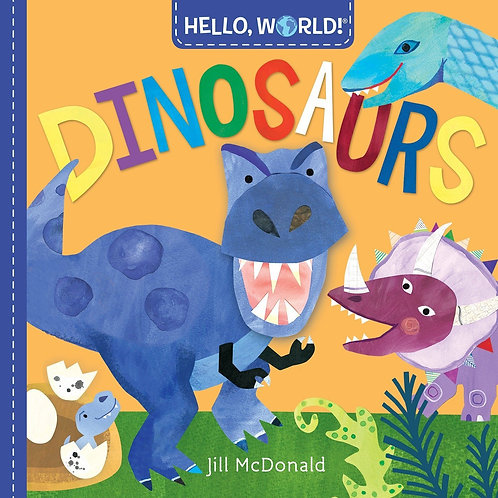 Dinosaurs - Hello, World! - Jill McDonald