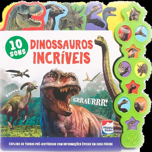 Livro Sonoro - Dinossauros Incríveis