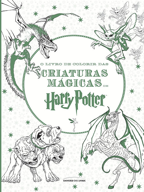 Criaturas Mágicas Harry Potter - Colorir