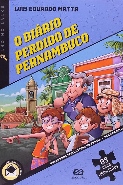 O Diário Perdido de Pernambuco - Luis Eduardo Matta