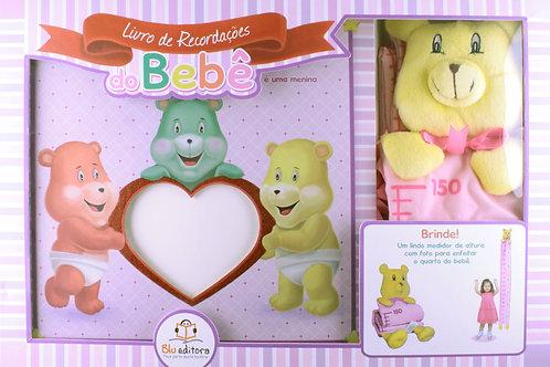Recordações do Bebê - Kit Rosa