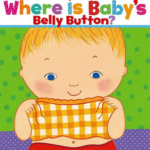 Where Is baby's Belly Button - Karen Katz
