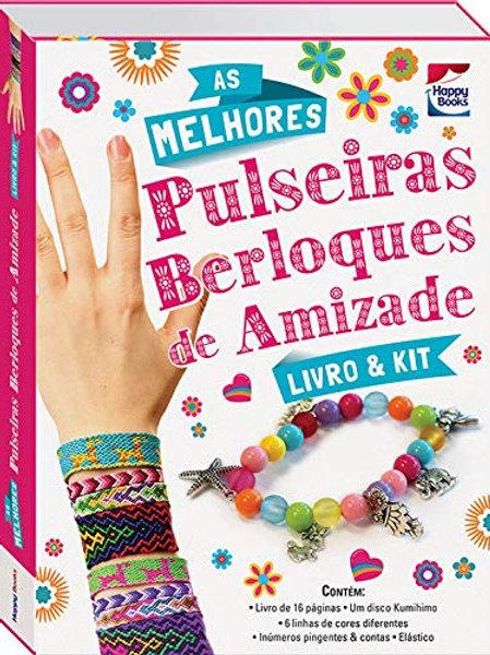 Pulseiras Berloques de Amizade - Livro & Kit