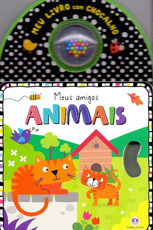 Meus Amigos Animais - Livro Chocalho em E.V.A.