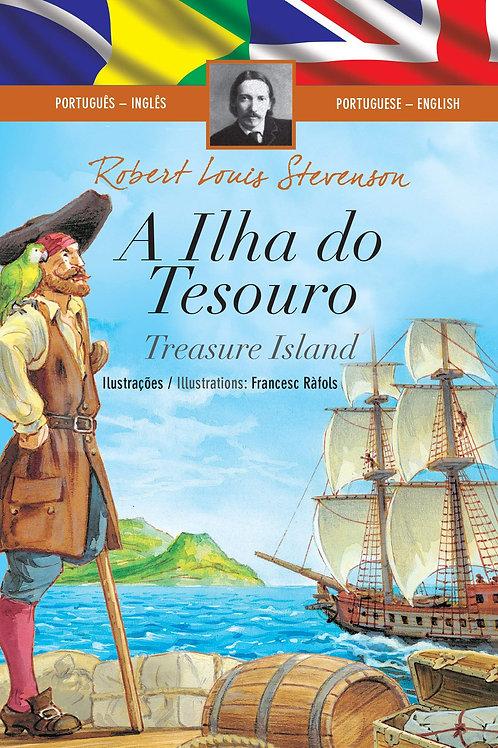 A Ilha do Tesouro - Português-Inglês