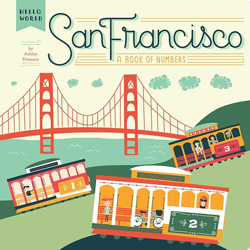 San Francisco - A Book of Numbers