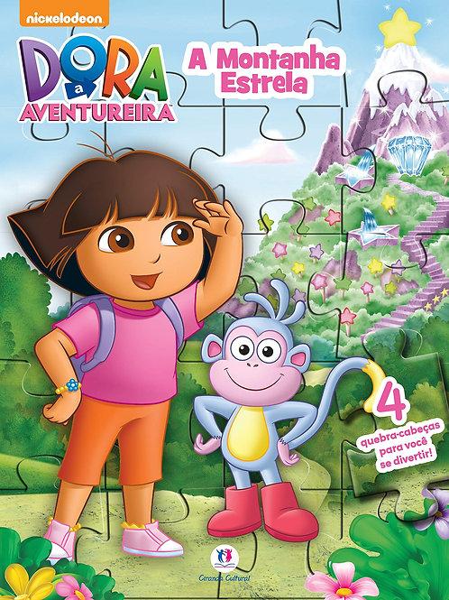 Quebra Cabeça - Dora a Aventureira - A Montanha Estrela