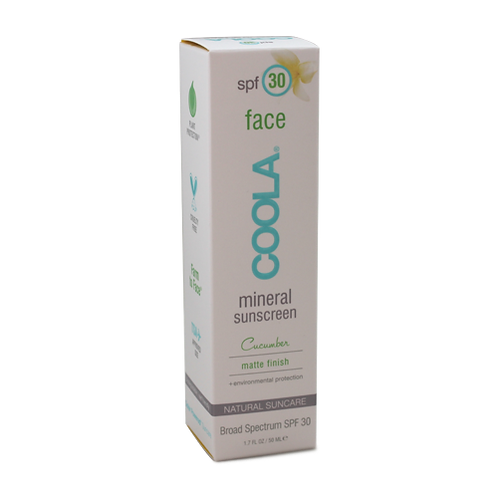 Coola Mineral Face SPF 30 Cucumber Matte Finish - 1.7 fl.oz.