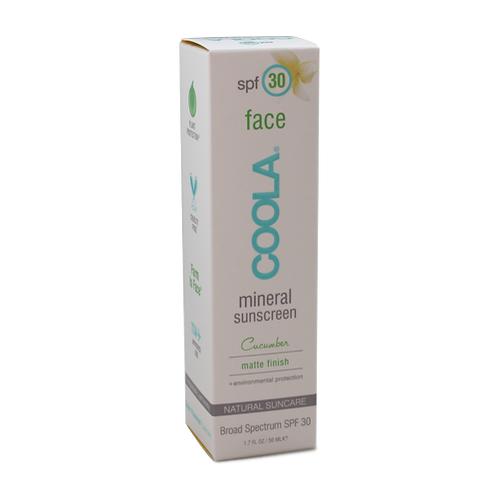 Coola Mineral Face SPF 30 Cucumber Matte Finish - 1.7 fl.oz.