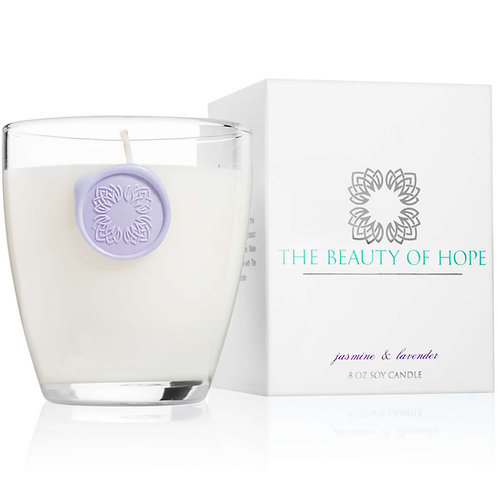 The Beauty Of Hope - 8oz Votive Candle