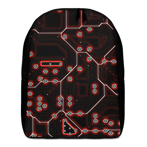 Savage Axis Backpack Motherboard Red