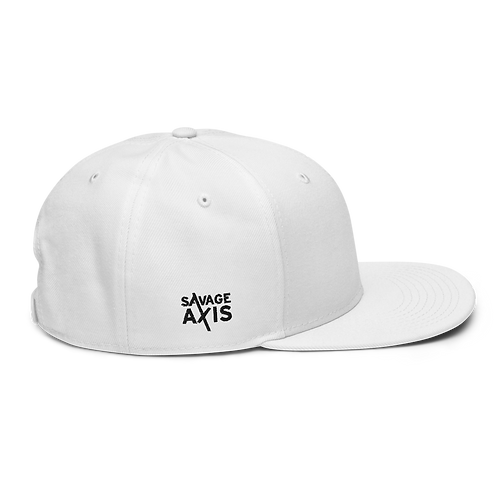 Savage Axis Snapback White