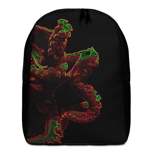 Savage Axis Backpack Orange Octopus Black