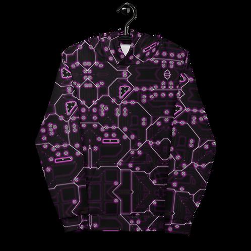 Savage Axis Hoodie Motherboard Purple