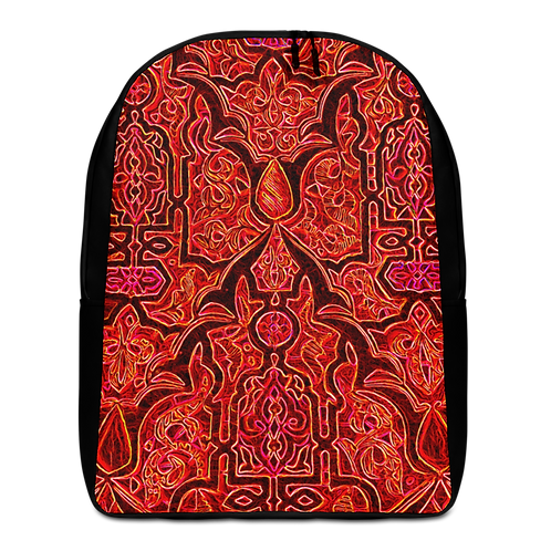 Savage Axis Backpack Moroccan Carving Red & Black