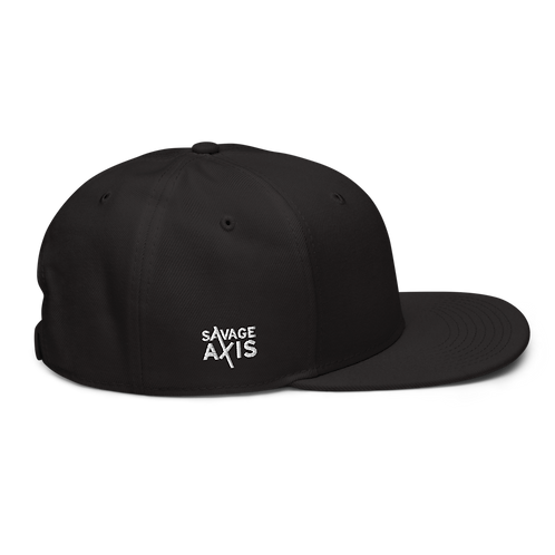 Savage Axis Snapback Black