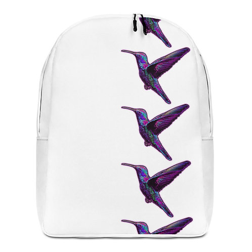 Savage Axis Backpack Humming Bird Vertical White