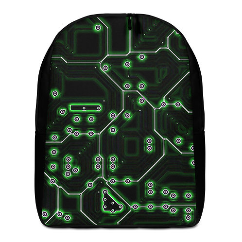 Savage Axis Backpack Motherboard Green