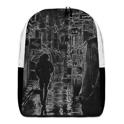 Savage Axis Backpack Black & White Japanese Streets Black & White