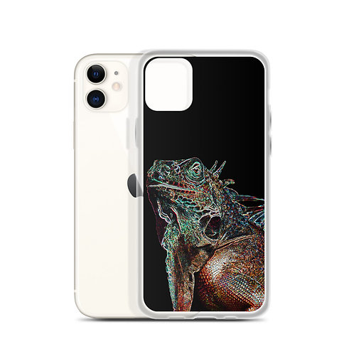 iPhone Case Lizard Black