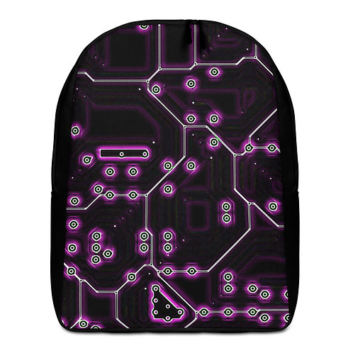 Savage Axis Backpack Motherboard Purple