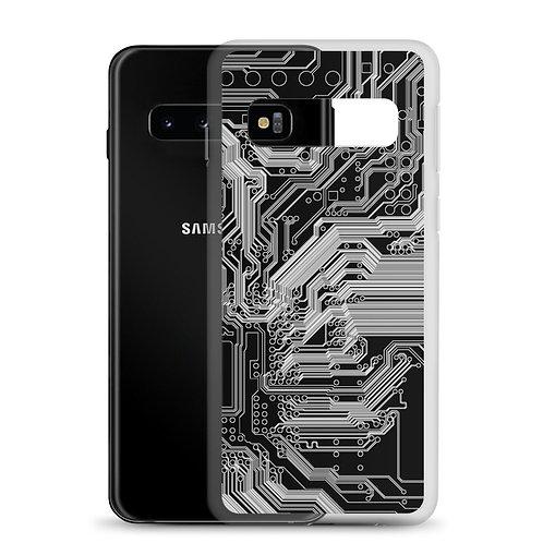 Samsung Case Super Circuit Dark Grey