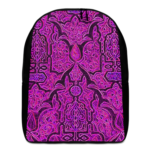 Savage Axis Backpack Moroccan Carving Purple & Black