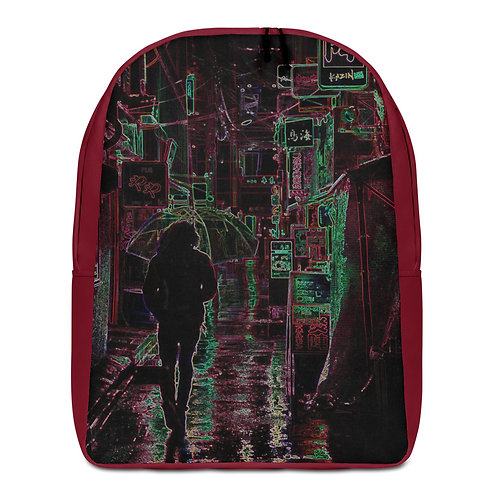 Savage Axis Backpack Japanese Streets Maroon