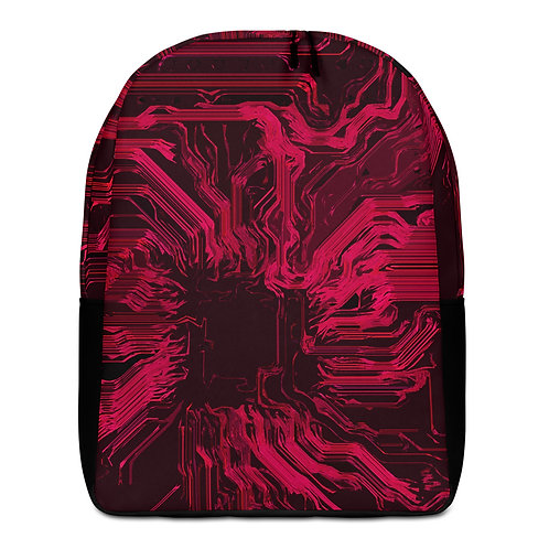 Savage Axis Backpack Organic Circuit Red