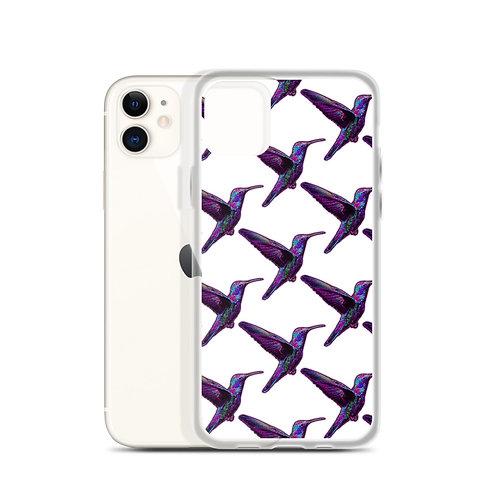 iPhone Case Humming Bird White