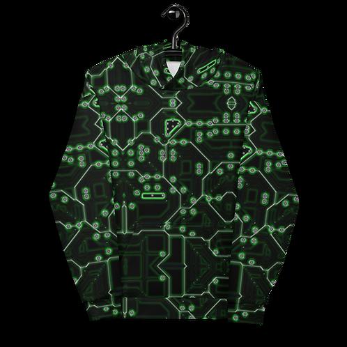 Savage Axis Hoodie Motherboard Green