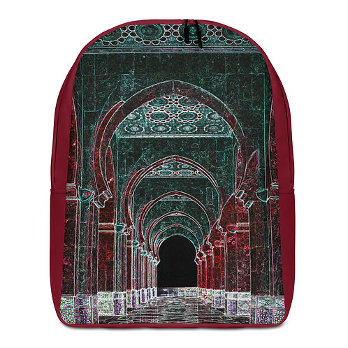 Savage Axis Backpack Moroccan Pillars Maroon