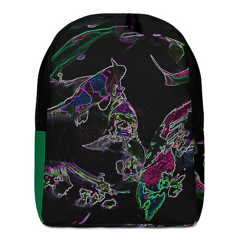 Savage Axis Backpack Japanese Carp Green & Black