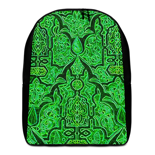 Savage Axis Backpack Moroccan Carving Green & Black