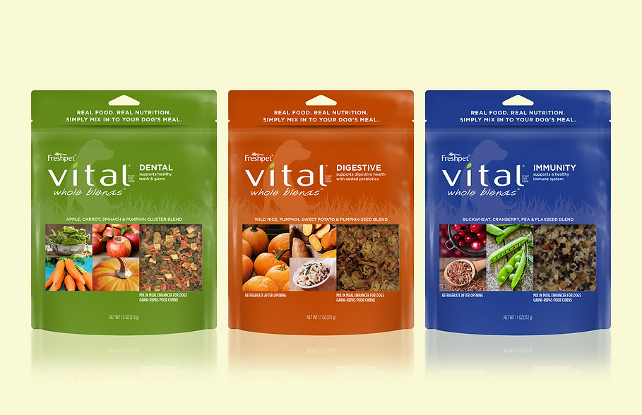Freshpet Vital Whole Blends