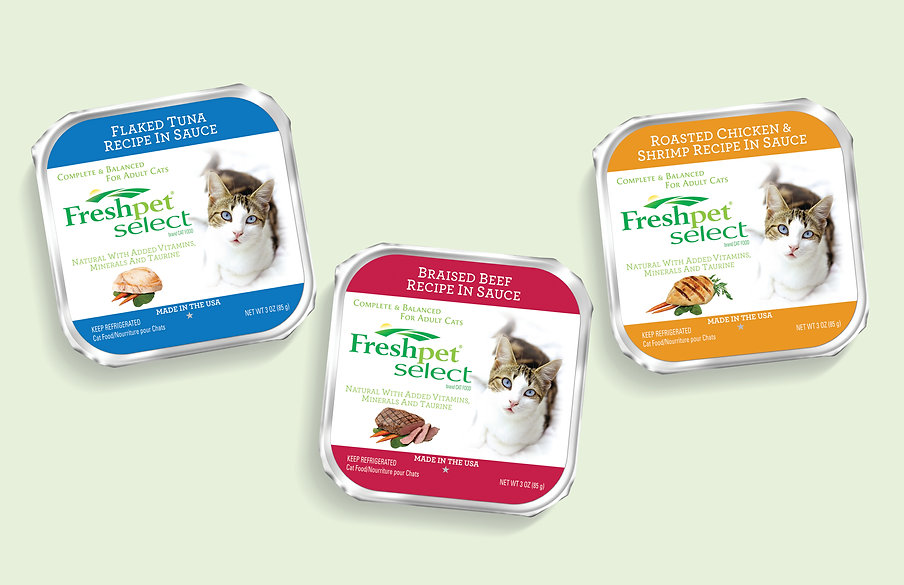 Freshpet Select, pet food, refrigerated cat food
