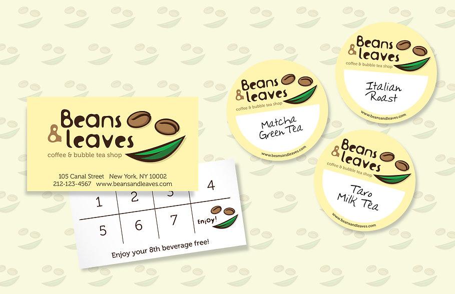 Beans & Leaves, bubble tea shop