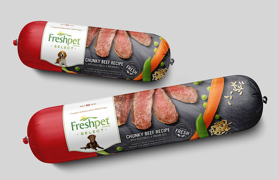 freshpet select, chunky beef recipe, dog food
