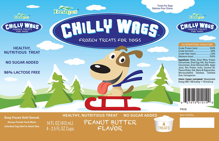 Freshpet Chilly Wags, frozen treats for dogs