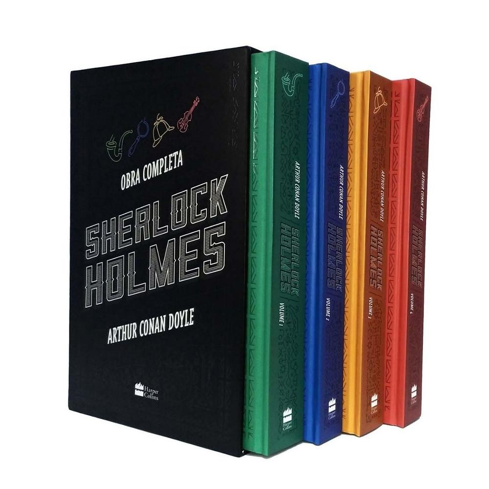 Box Sherlock Holmes de presente para homens