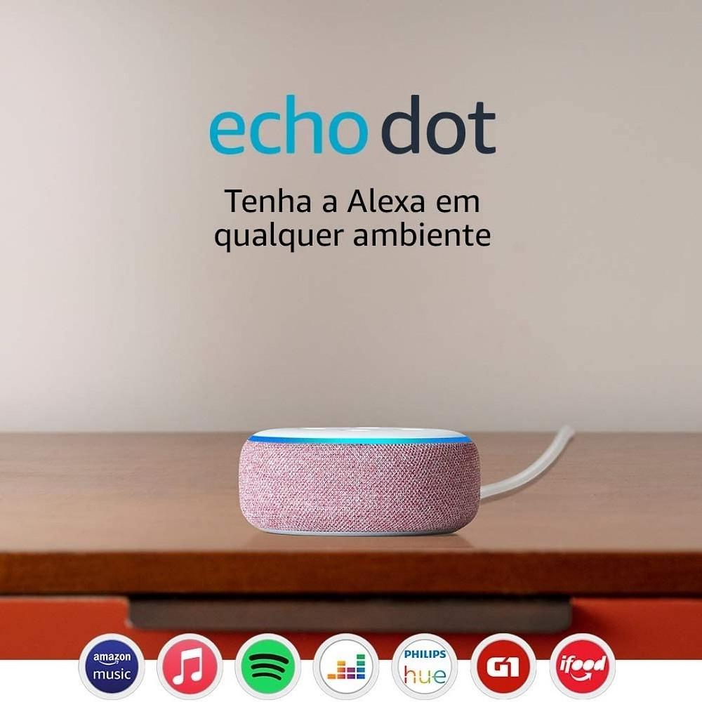 Echo Dot de presente para Dia das Mães
