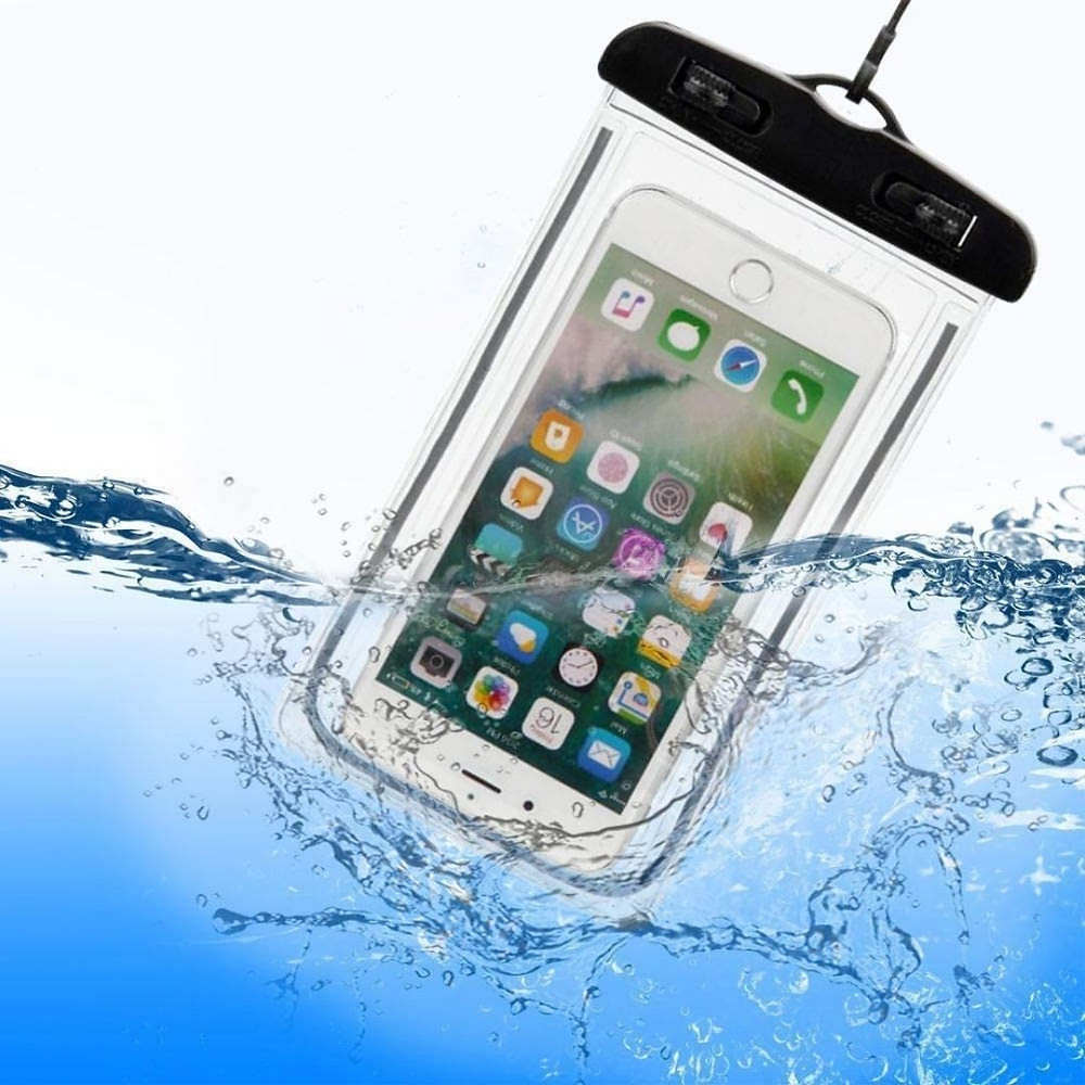 Capa para celular à prova d'água