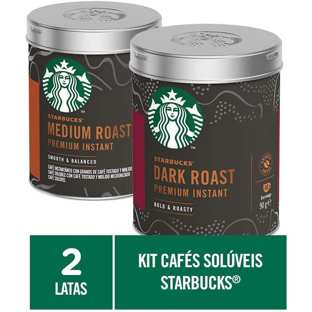 Kit de Cafés Starbucks para amiga que adora café