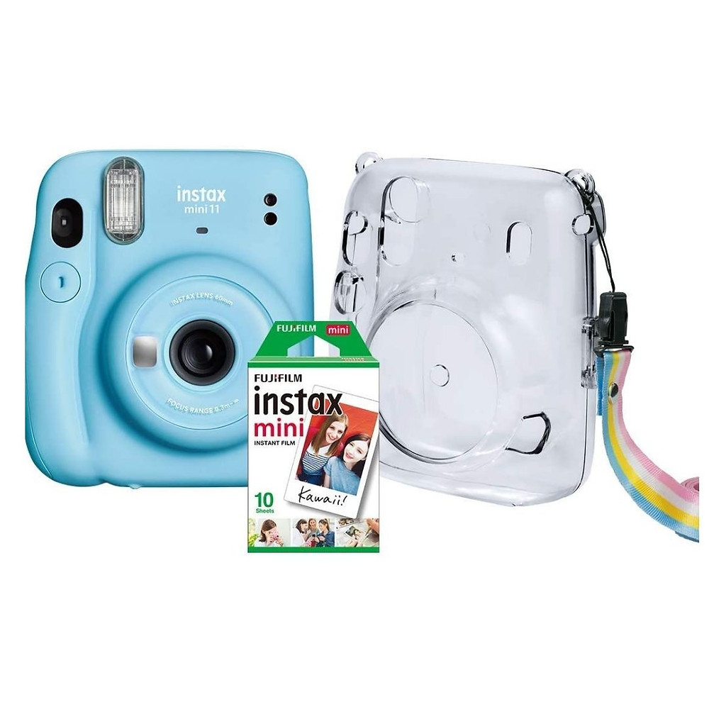 Kit câmera instatânea de presente para Dia das Mães
