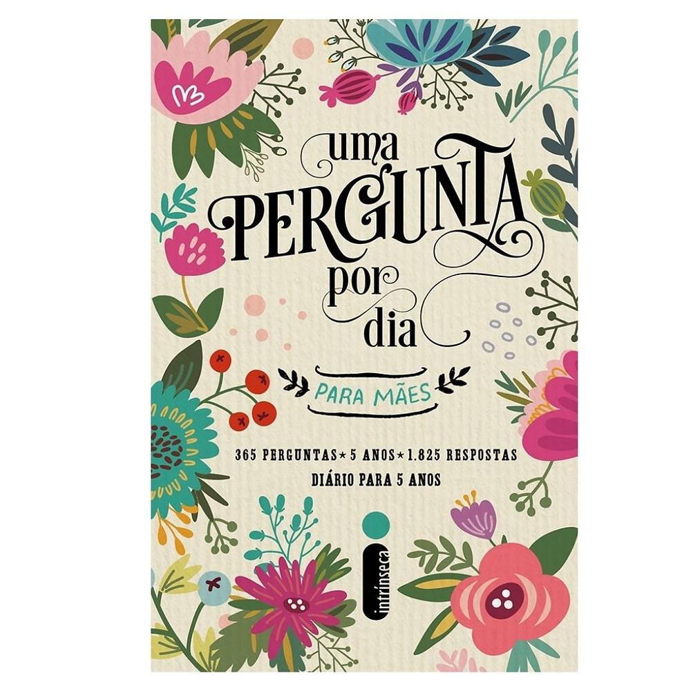 Livro diário para mães de presente para Dia das Mães