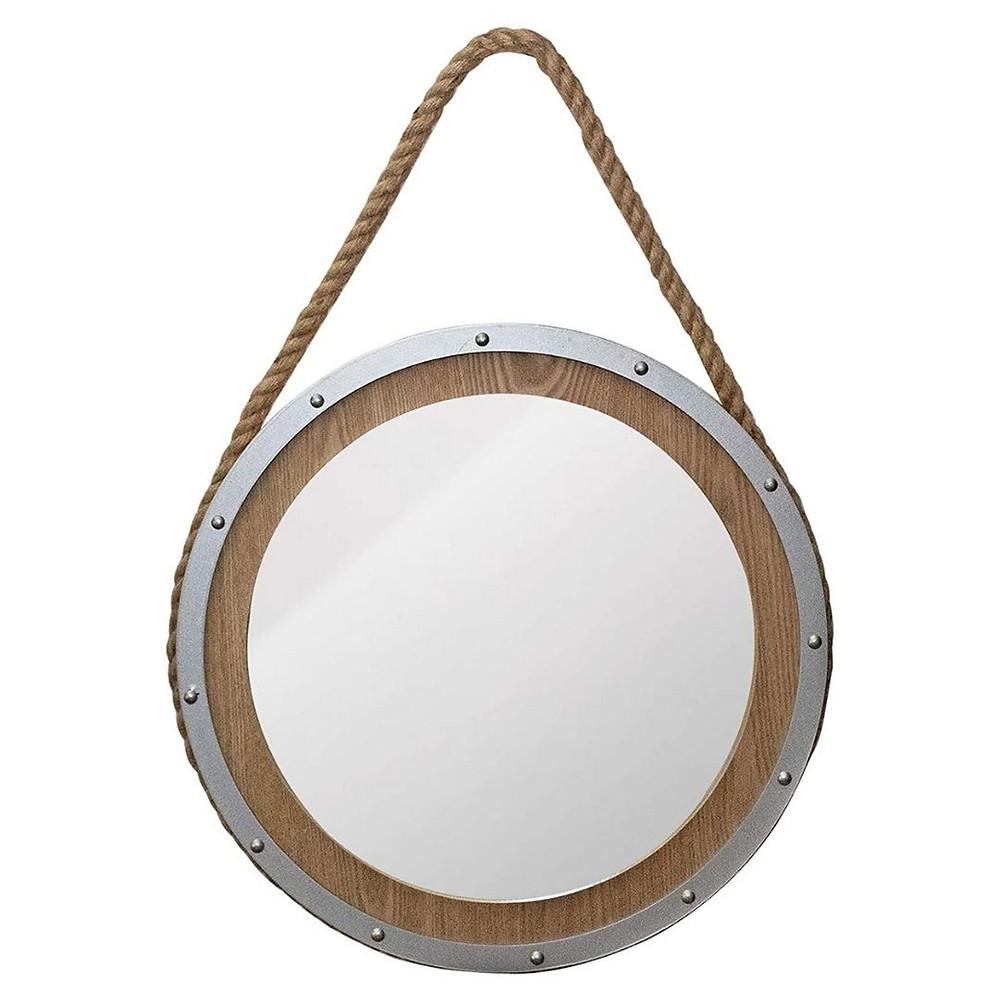 espelho de parede náutico