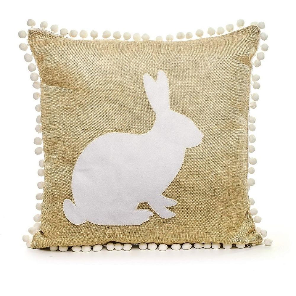 Almofada de coelho para presente de Páscoa