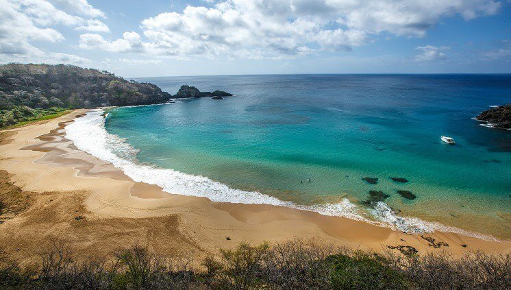 Baía do Sancho 3ª melhor praia do mundo 2021 tripadvisor