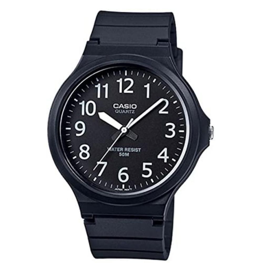 relógio analógico masculino cassio  de presente até R$100