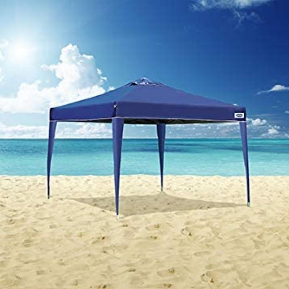 Tenda de praia sanfonada 3x3
